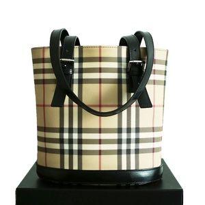 ELLIE ❤️Authentic Burberry Nova Check Bucket Bag❤️